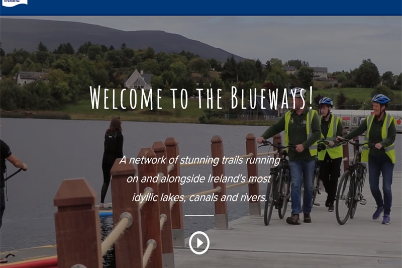 Blueways website homepage