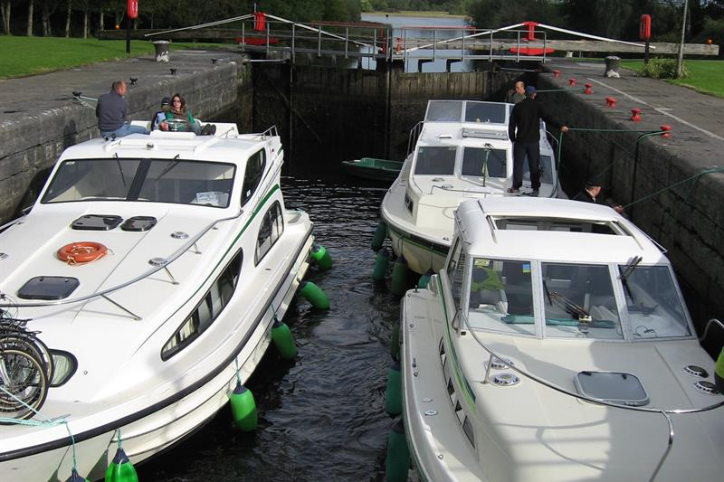 Boats in Albert Lock